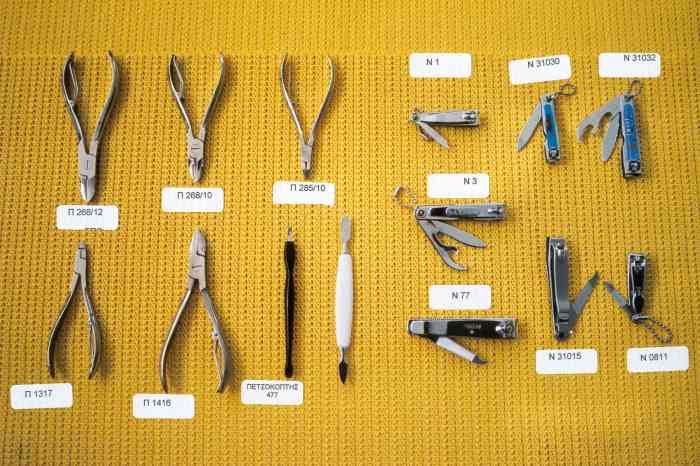 how to use manicure tools